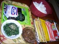 김밥 만들기