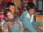 눈 내리는 고비 사막, 그리고 몽골 사람들