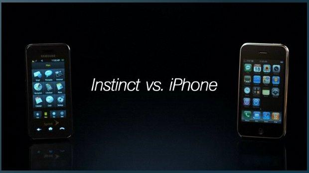 햅틱(인스팅트) vs 아이폰?  아이폰보다 스프린트가 한국에 들어오면 좋겠다