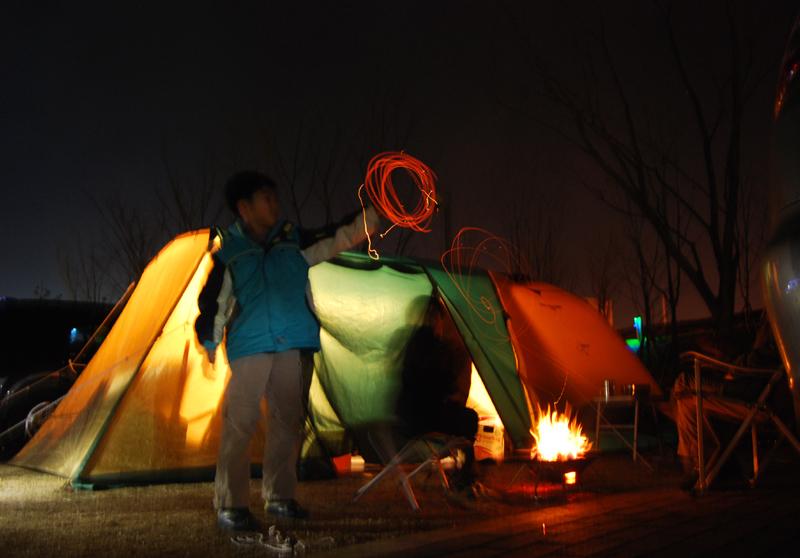 한탄강캠핑장1