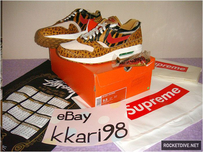 czech nike air max 1 supreme animal 594e3 96141
