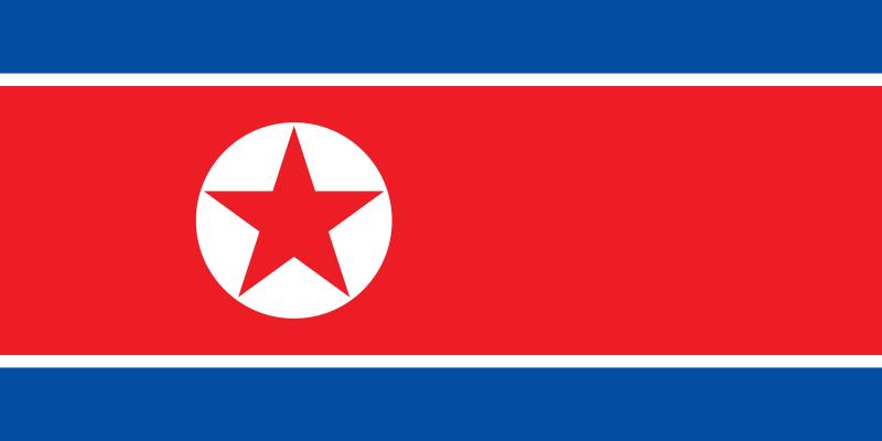 flag north korea
