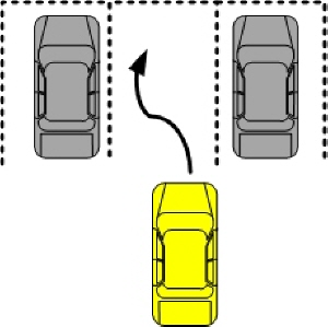주차 잘하는 법 - 2 (전진주차)