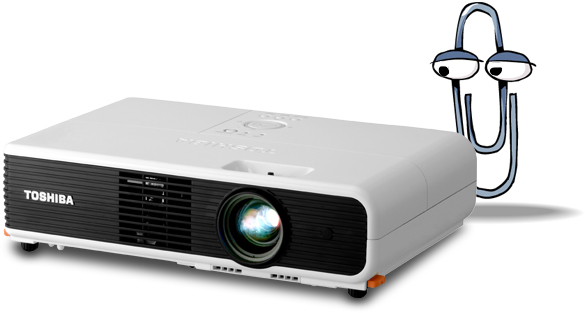 Toshiba X200U Projector with VUI