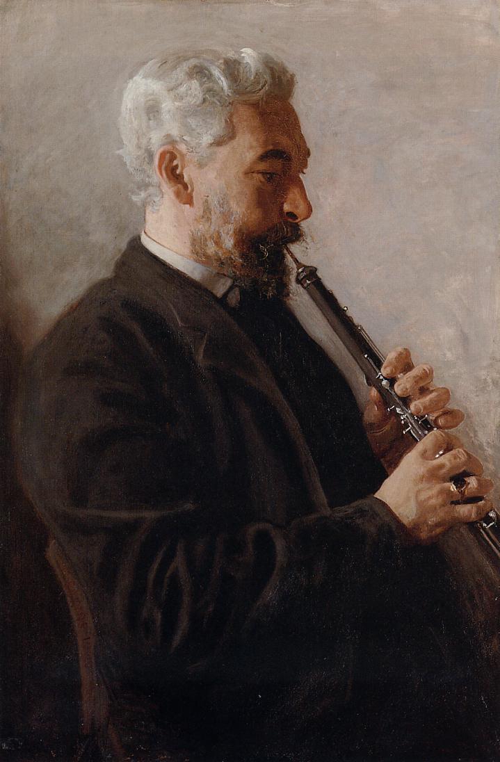 연주자의 초상 - 오보에,  플륫 연주자 (Oboeist,  Flutist)