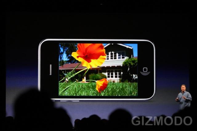 iPhone 3GS - Autofocus Camera