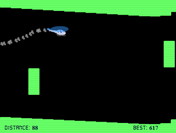 Helicopter - Flash Game, the famous