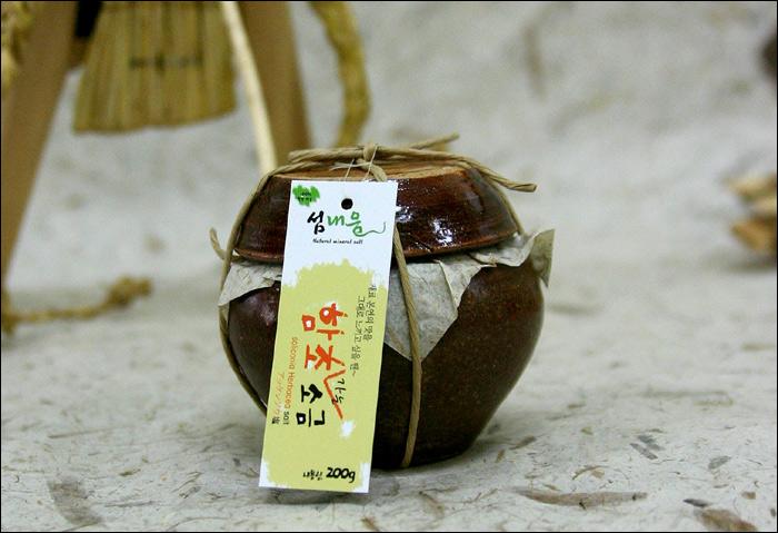 함초소금 200g(가정용)  16,000원/15,000원(2012년산)