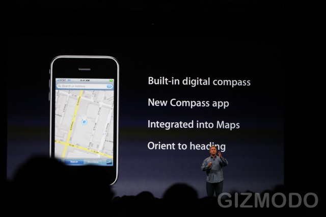 iPhone 3GS - Digital Compass