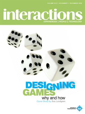 Cover Image of Interactions, 2008 Nov-Dec issue
