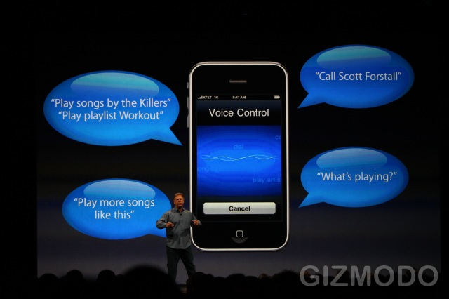 iPhone 3GS - Voice Control