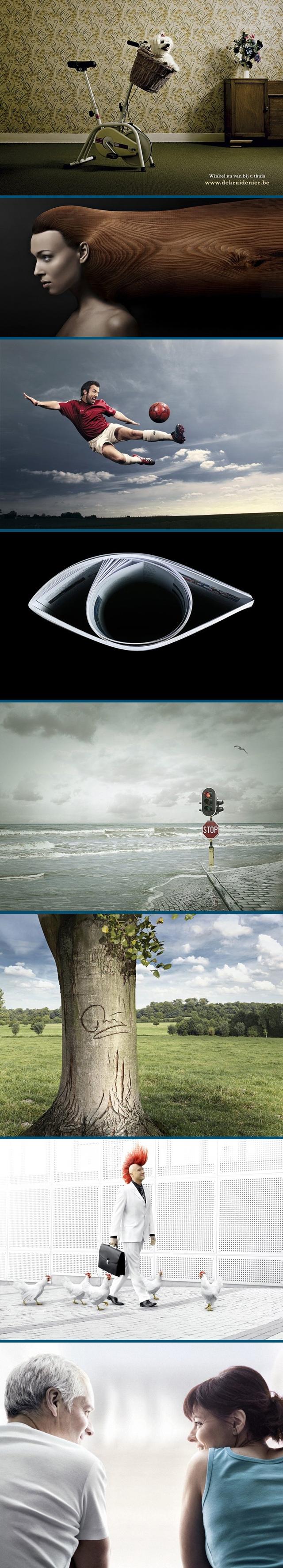기발하고 재미있는 광고 이미지