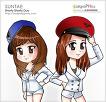 소녀시대 연예인 색칠공부 색칠자료 이미지 모음