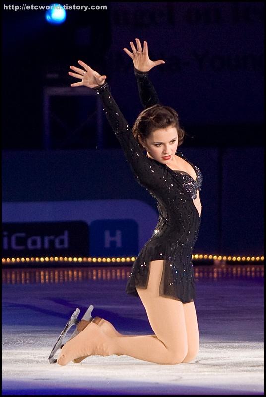 '현대카드슈퍼매치 Ⅶ - '08 Superstars on Ice' 에 참가한 샤샤 코헨 (Sasha Cohen)