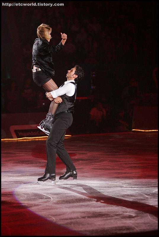 벨빈 & 아고스토 (Belbin & Agosto). '현대카드슈퍼매치 Ⅶ - '08 Superstars on Ice'  2부 공연