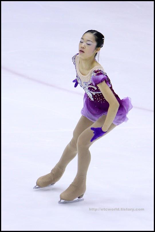 2008 전국남녀 회장배 피겨 스케이팅 랭킹대회 여자싱글 김나영 선수의 FS