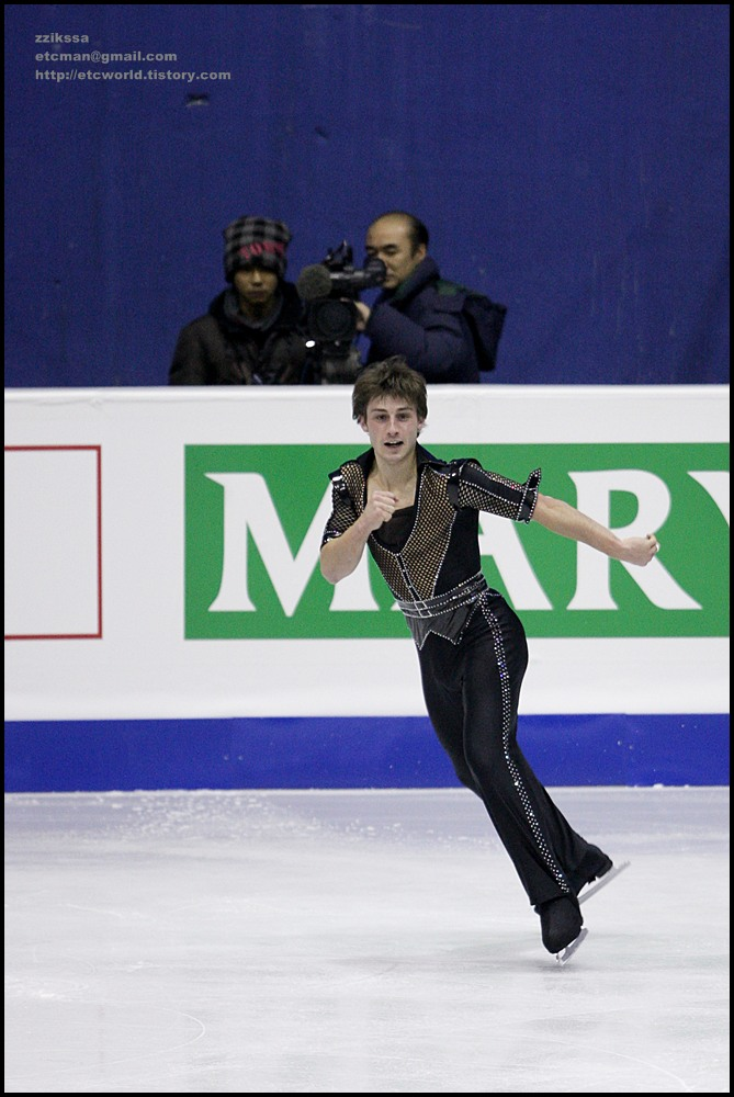 Brian JOUBERT at 'SBS ISU Grand Prix of Figure Skating Final Goyang Korea 2008/2009' Senior Men - Short Program